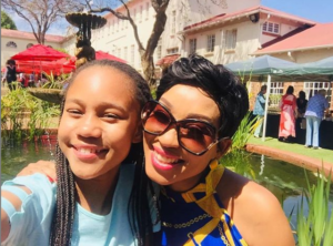 Kgomotso Christopher Gushes Over Her Daughter's Acting Skills-SurgeZirc SA