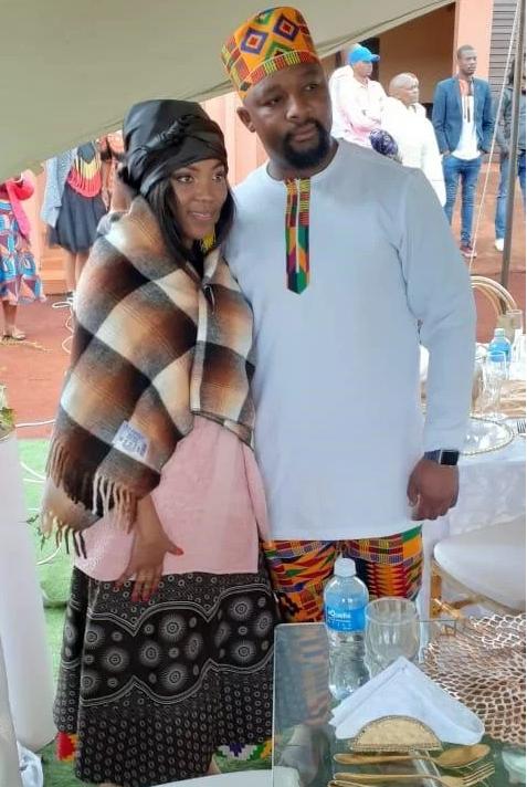 Luyanda Potwana's Wife Comes To SA For Their Traditional Wedding (Pics)-SurgeZirc SA