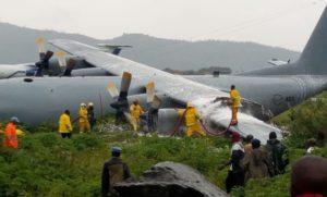 Fire Under Control After SA Military Plane 'Crash Lands At Congo Airport' - SurgeZirc SA