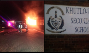 Sebokeng School On Fire On First Day Of School-SurgeZirc SA