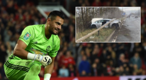 Sergio Romero Involved In Car Crash (Video)-SurgeZirc SA