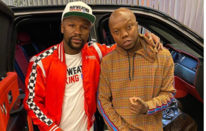 Tbo Touch Chills With Floyd Mayweather (Video)-SurgeZirc SA