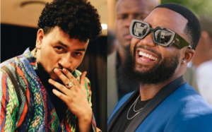 Rapper Cassper and AKA are ready for their boxing match