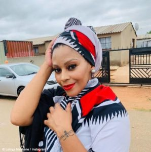 Actress Letoya Makhene says it was not her intentions to offend anyone when she gave blankets