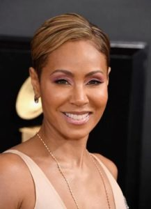 Jada Pinkett Smith is an American actress known for her signature short haircuts. From the blonde pixie to sleek bob cuts and stylish braids.