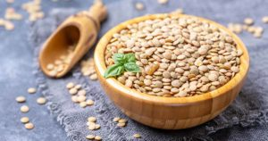 For vegetarians, the most important iron source is lentils.