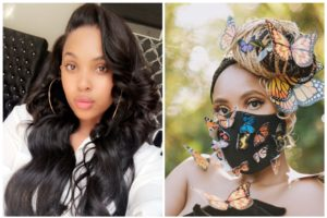 """Always Nailing It!"" Linda Mtoba Dazzles Fans With Butterfly Mask During Durban July-SurgeZirc SA"