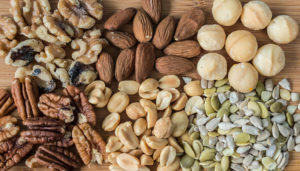 Apart from being a delicious and satiating snack, nuts and seeds help maintain in the body.