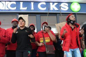 Police Arrested 10 People, Including EFF MP Over Clicks Vandalism -SurgeZirc SA
