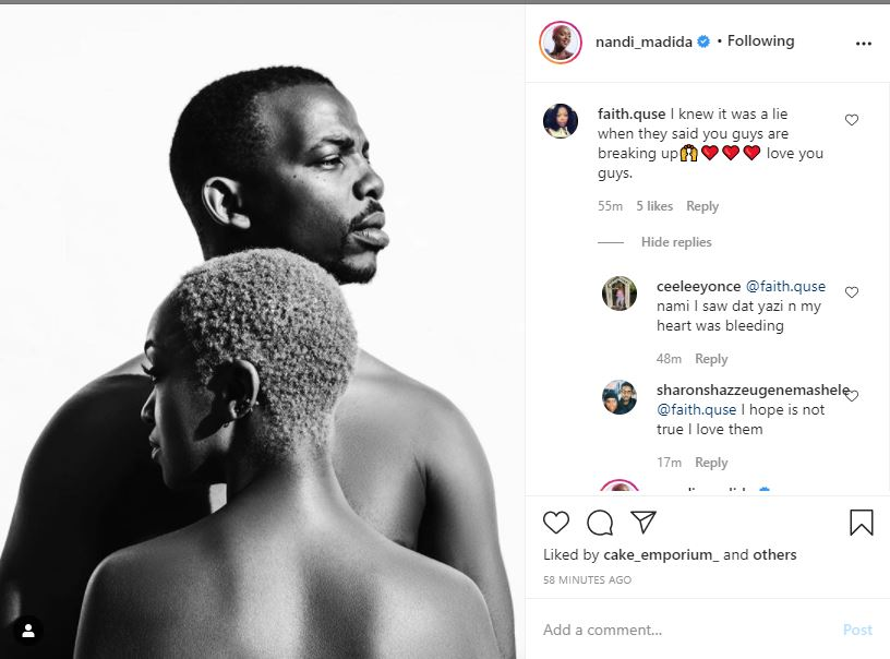 Nandi Madida Laughs Off Rumours That Her Marriage With Zakes Is In Trouble-SurgeZirc SA