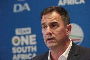 DA To Call For Parliamentary Debate On SA's Covid-19 Response