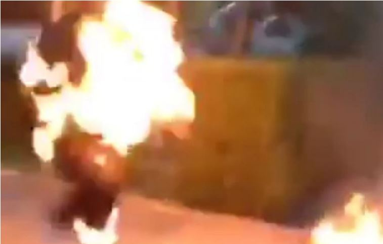 Zimbabwean Woman Set On Fire For Stealing Food Worth R25 At Spar-SurgeZirc SA