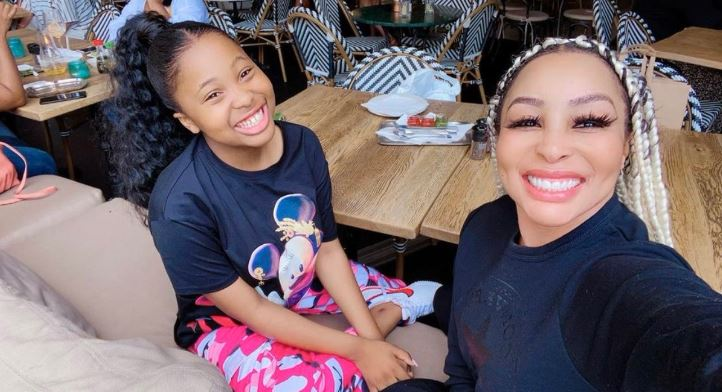 Khanyi Mbau Pens Touching Birthday Note For Daughter, Khanz-SurgeZirc SA