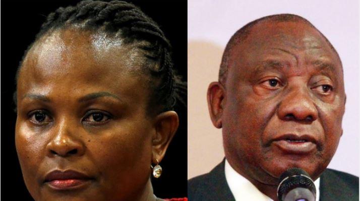 Ramaphosa Denies Plotting The Arrest Of Public Protector-SurgeZirc SA