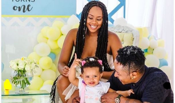 Bontle Modiselle And Hubby Throw First Birthday Party For Afrika-SurgeZirc SA