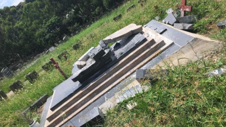 Senzo Meyiwa's Tombstone In KZN Vandalized Two Months After Unveiling-SurgeZirc SA