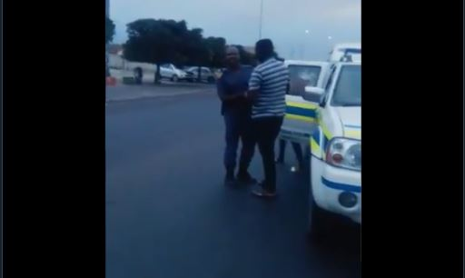 Watch Taxi Driver Beats Up And Spits In Face Of Drunk Policeman-SurgeZirc SA