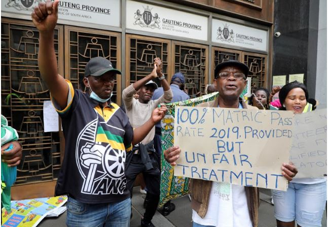 Teachers Protest Over No Salaries For Five Months-SurgeZirc SA
