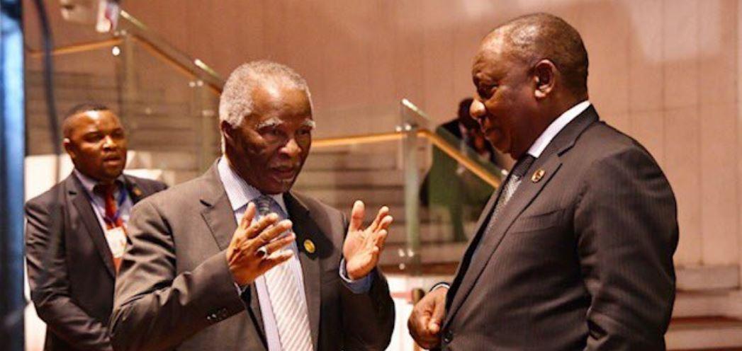 ANC Facing Civil War As Thabo Mbeki Makes Surprise NEC Appearance-SurgeZirc SA