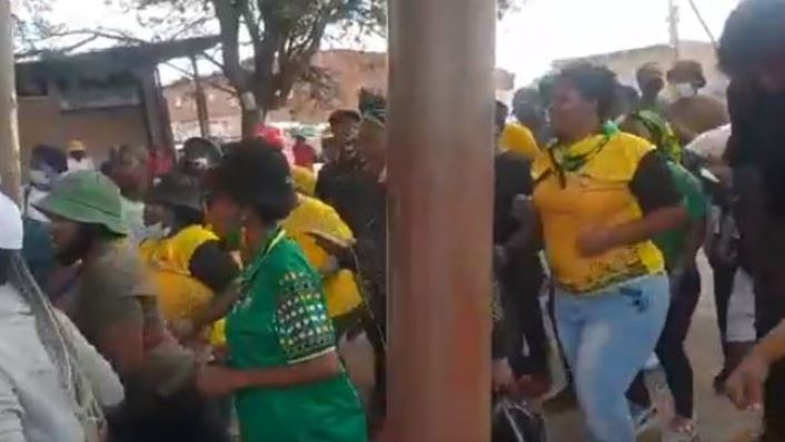 ANC Members Celebrate Outside Court After Rape Accused Councillor Bail (Video)-SurgeZirc SA