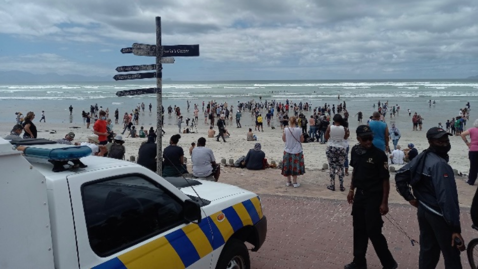 EFF Call For Suspension Of Law Enforcement Agencies Amid Beach Protests-SurgeZirc SA