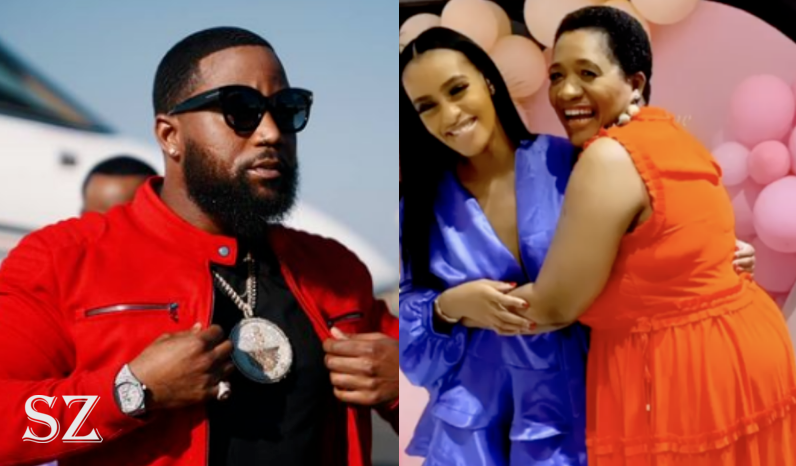 """Cassper Nyovest's Baby Mama Gushes Over His Mom """"My Son Is So Blesesed""""-SurgeZirc SA"""