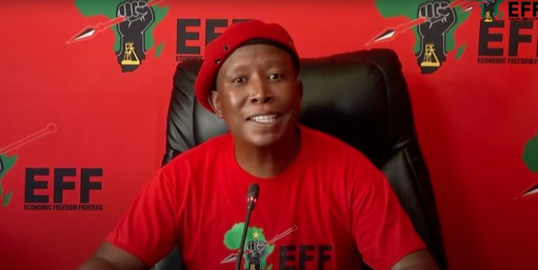 """Malema Slams EFF Members: """"Anyone Who Wears Another Political Party's T-shirt Is Not Welcomed""""-SurgeZirc SA"""
