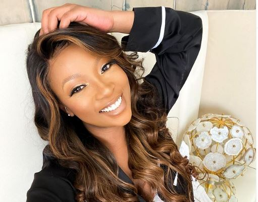 So Much Drama! Pearl Modiadie Wears Shades While Changing Her Baby-SurgeZirc SA