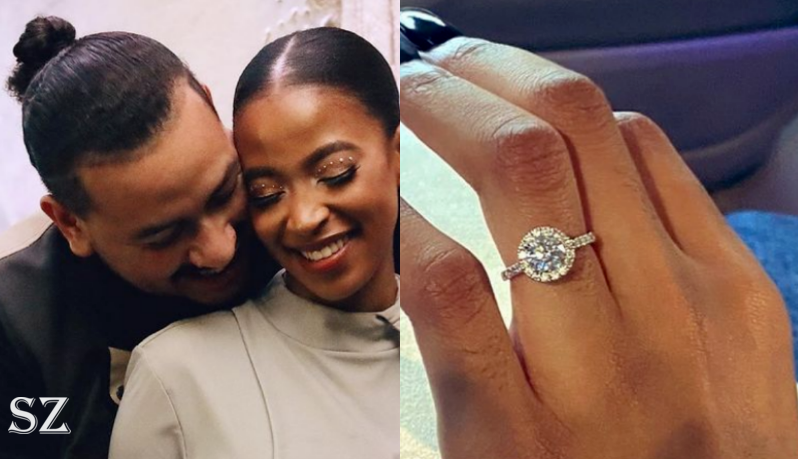 AKA Puts A Ring On His Girlfriend!!! Bhova Is Now Engaged-SurgeZirc SA