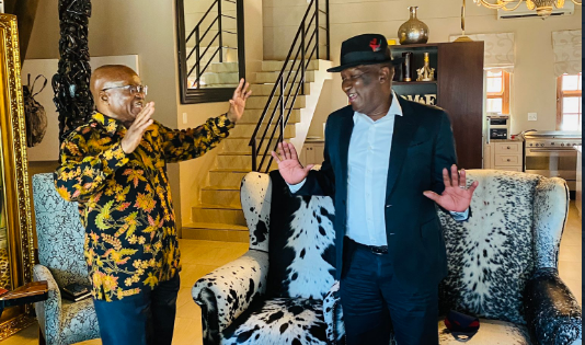 Bheki Cele Concludes Meeting With Jacob Zuma, Mum On Outcome-SurgeZirc SA
