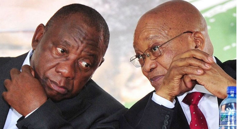 "Ramaphosa Criticised For Reaction To Zuma's Behaviour: ""Deafening silence""-SurgeZirc SA"