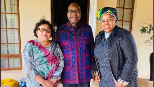 Watch Dudu Myeni Provides Groceries For Zuma's Tea Meetings In Nkandla-SurgeZirc SA