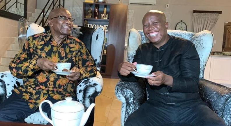 Malema Reacts To DA's Query On Who funded The Nkandla Tea Party-SurgeZirc SA