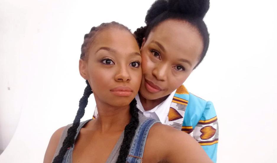 "Sindi Dlathu Shows Support To Larona Moagi Amid ""Bad Acting Skills"" Critism-SurgeZirc SA"