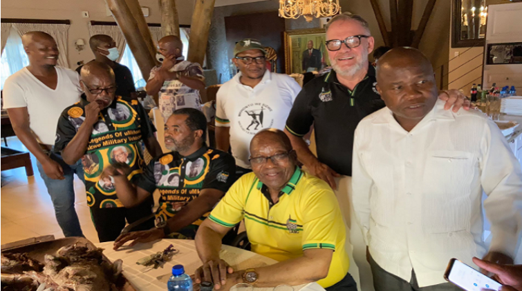 MKMVA Deploys 200 Soldiers At Nkadla To Prevent Zuma's Arrest-SurgeZirc SA