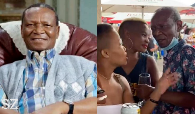 80-Year-Old Veteran Actor Boikie Pholo Caught On Cam Flirting With Teenagers-SurgeZirc SA
