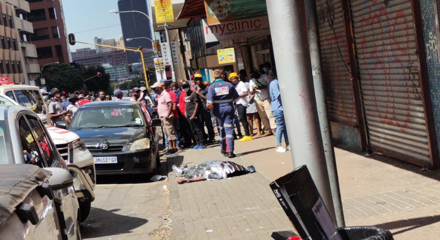 Man Shot Dead By Police During Wits University Student Protests (Video)-SurgeZirc SA