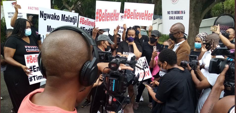 Ntsiki Mazwai Lead Protest Against Sunday World After Publishing Fake News On Euphonik's Rape Victim-SurgeZirc SA