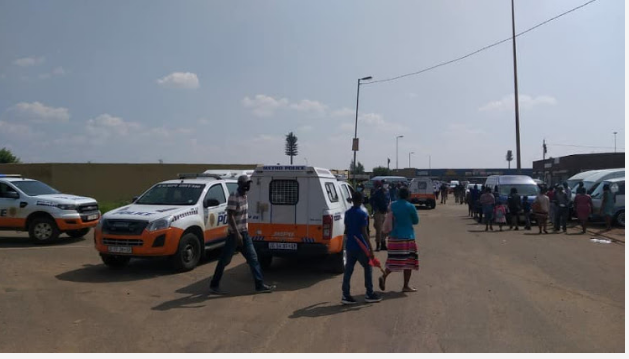 Aggressive Soweto Churchgoers Clash With Police Leaving Two Officers Injured-SurgeZirc SA