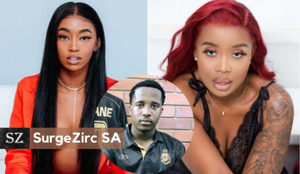 Love Triangle??? Andile Mpisane Spotted Getting Cosy With Kamo Mphela-SurgeZirc SA