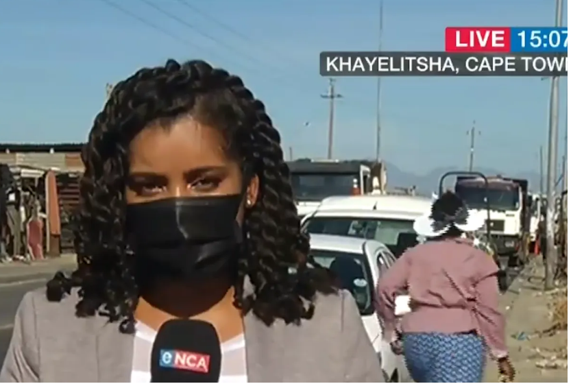 eNCA News Team Robbed At Gunpoint, Just Moments After Live Broadcast-SurgeZirc SA
