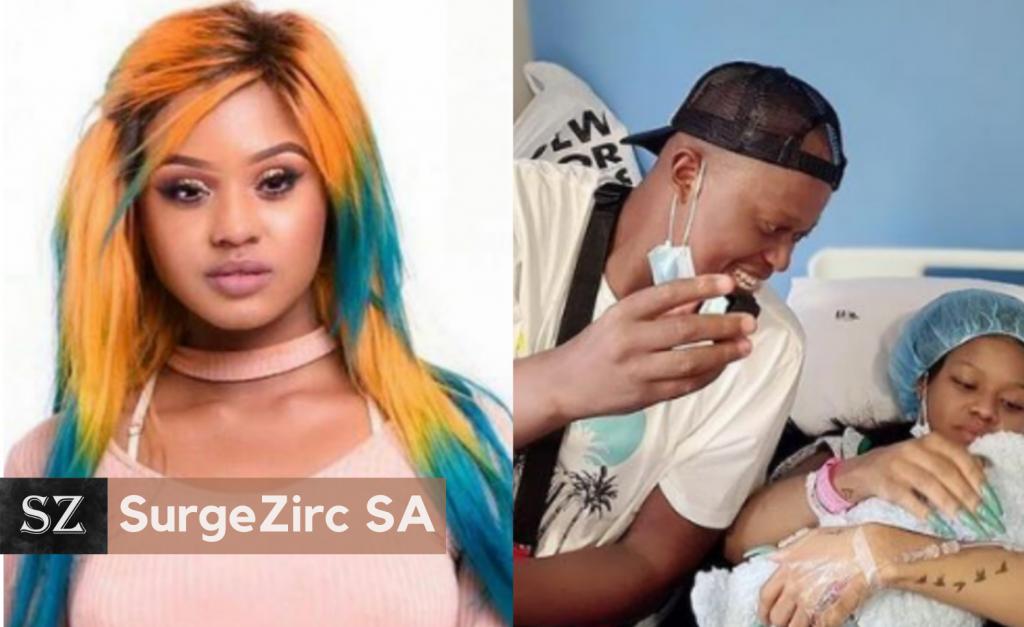 Babes Wodumo Announces Birth Of First Child With Husband Mampintsha-SurgeZirc SA