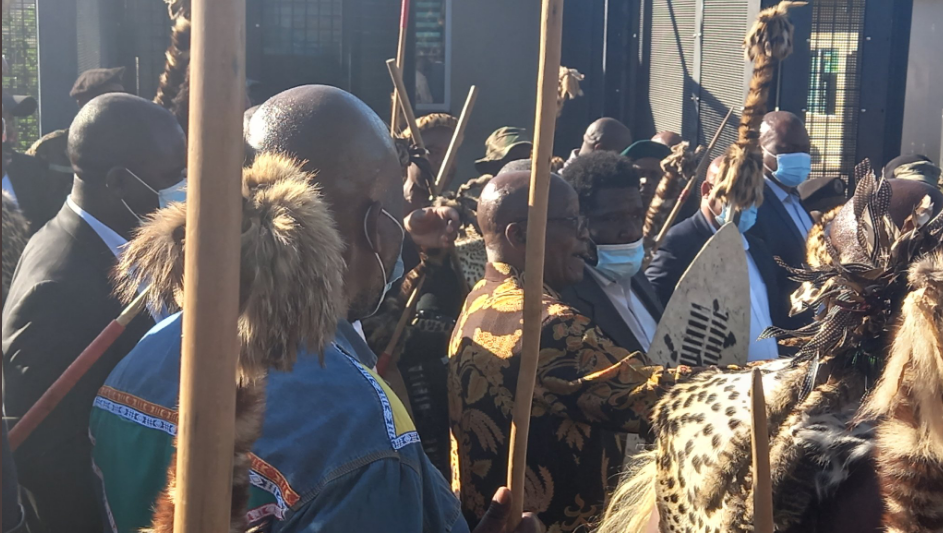 Watch| Zuma Makes First Public Appearance As His Son Vows There'll Be Violence-SurgeZirc SA