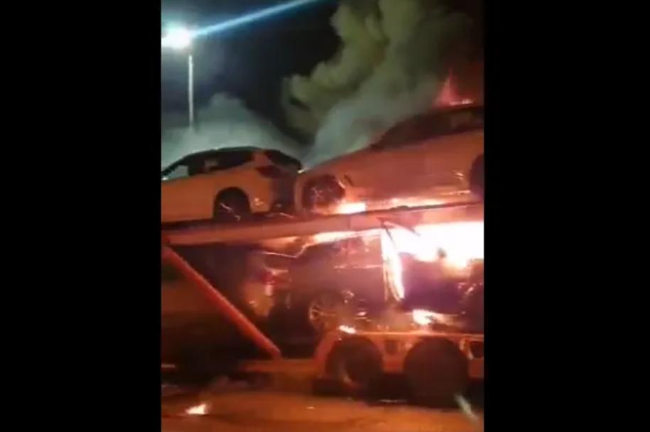 KZN In Flames, 25 Trucks Burnt As Free Jacob Zuma Protests Continue-SurgeZirc SA