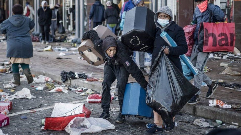 Looters Remorseful As Daily Life Gets Tougher, Shit Blame On Peer Pressure-SurgeZirc SA