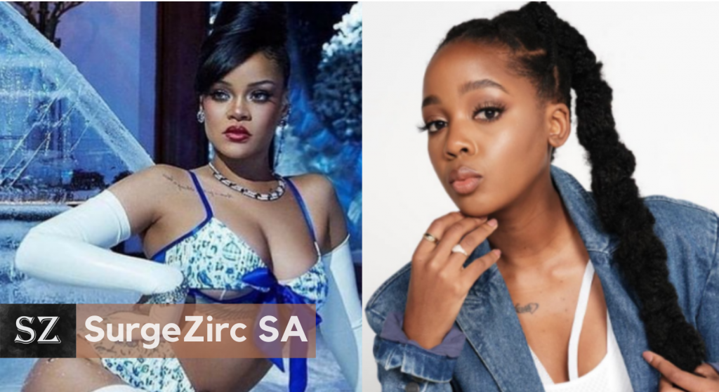 SAns Go Wild To Thuso Mbedu's Feature On Rihanna's Annual Savage X Fenty Show-SurgeZirc SA